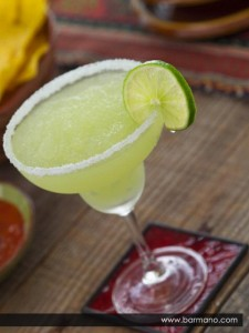frozen margarita cocktail time to party