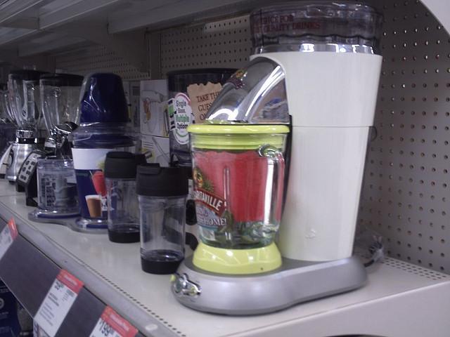 margarita machine on shelf