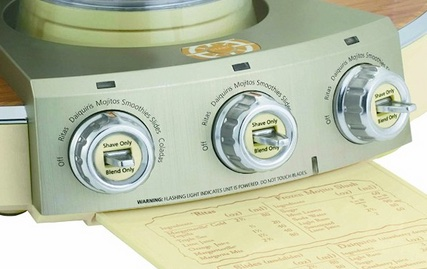 Margaritaville DM3000 Frozen Concoction Maker - controls closeup