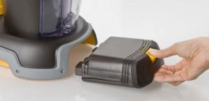 Margaritaville DM900 Portable Frozen Concoction Maker - battery closeup