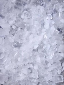 chopped ice can ruin a frozen margairta