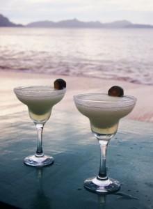 2 margaritas on a mexican beach ole