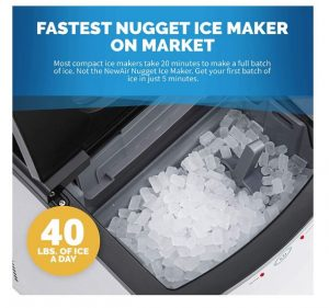an ice maker that makes sonic ice
