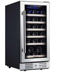 built in wine cooler