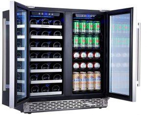 built in wine refrigerator