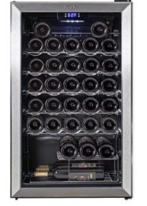 undercounter wine refrigerator