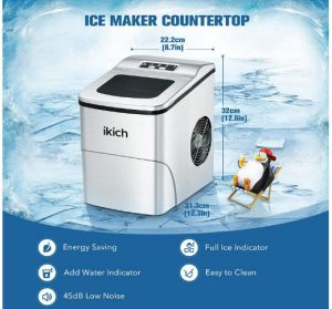 sonic ice machine for home