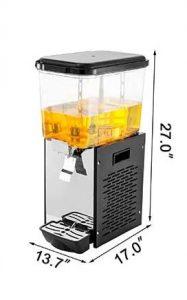 commercial glass beverage dispenser